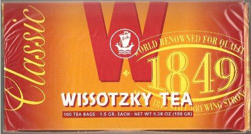 Classic Wissotzky Tea - 100 tea bags