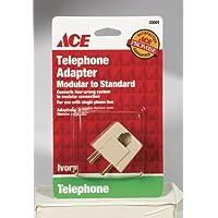 Ace Standard To Modular Telephone Adapter (33001)