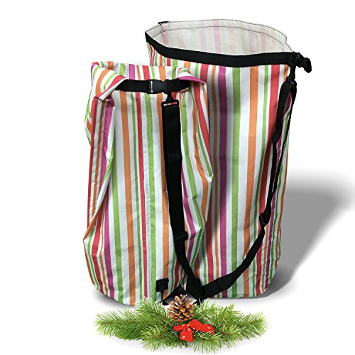 Cyber Monday Deal Still On! Laundry Hamper - Strap for Easy Carrying, Folds Flat, Longlasting Waterproof Dirty Clothes Basket. Perfect Xmas Gift for Families or Students in College Dorm (Perfect Gifts For College Students)