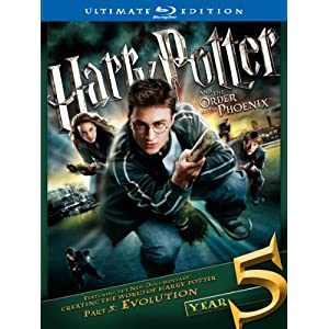 Harry Potter and the Order of the Phoenix (Two-Disc Ultimate Edition) [Blu-ray] (2007)