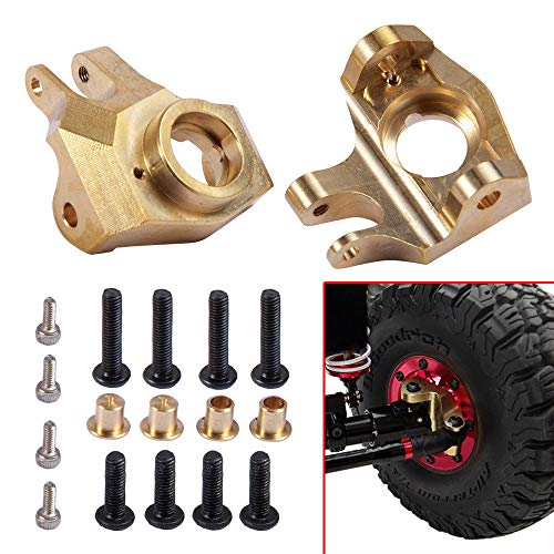 Benedict Harry Brass Heavy Duty Front Steering Knuckle for 1/10 RC Axial SCX10 II 90046 48g/pc