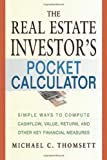 Real Estate Investor's Pocket Calculator, Michael C. Thomsett, 0814472966