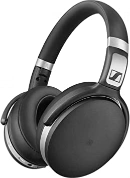 Amazon Com Sennheiser Hd 4 50 Bluetooth Wireless Headphones With Active Noise Cancellation Black And Silver Hd 4 50 Btnc Electronics