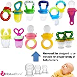NatureBond Silicone Teat Sac (6 PCS) For Baby