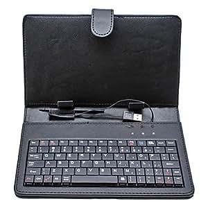 CL - Estuche Universal USB 2.0 QWERTY Con Teclado para tablets de 18cm P3100, P6200, Google Nexus 7