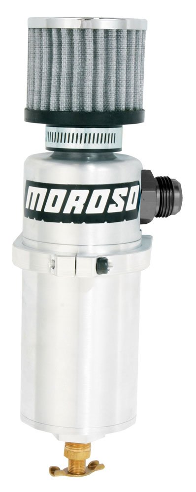 Moroso 85500 Vacuum Pump Breather Tank by Moroso
