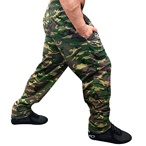 Workout Baggy Pants - Otomix Men's Camouflage Baggy Workout Pants MD