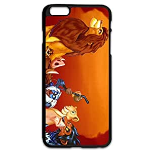 Lion King Safe Slide Case Cover For IPhone 6 Plus (5.5 Inch) - Nerdy Cover hjbrhga1544