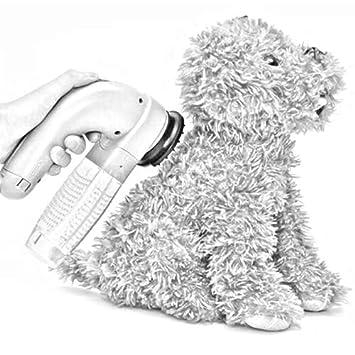 GZD Aspiradora de Pelo para Mascotas, Masaje eléctrico portátil ...