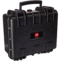 Monoprice Weatherproof Hard Case with Customizable Foam, 13 x 12 x 6