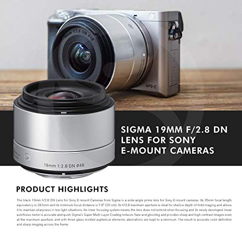 Buy sigma 19mm emount