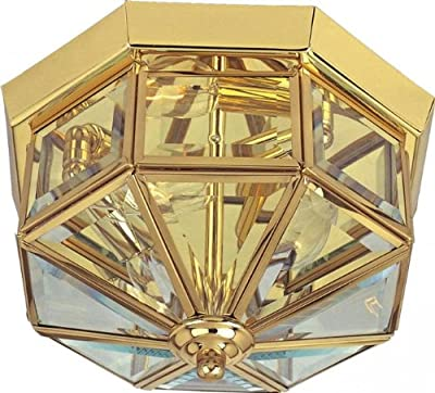 Maxim 6503CLSN, Maxim Incandescent Flush Mount, 3 Light, 25 Watts, Satin Nickel