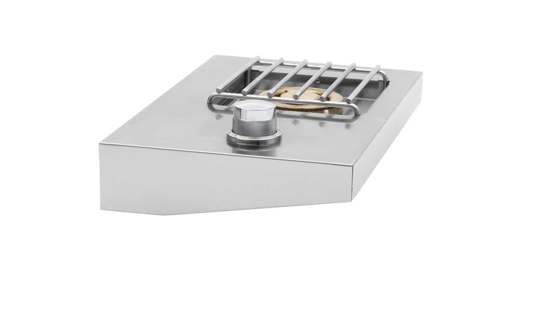 Delsol Freestanding Grill Attachment Side Burner (DSSB1F-N), Natural Gas