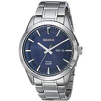 Seiko Men's SNE361 Analog Display Japanese Quartz Silver Watch