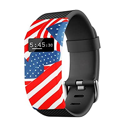 Moonmini Fitbit Charge / Fitbit Charge HR Band Cover, Soft Silicone Case Sleeve Protector Secure Sock Accessory for Sports Wristband ...