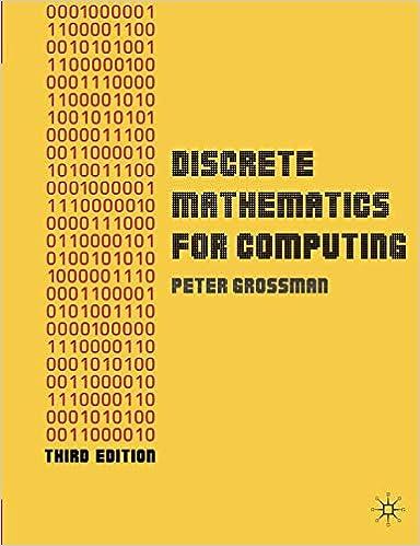 Discrete Mathematics For Computing Peter Grossman Pdf