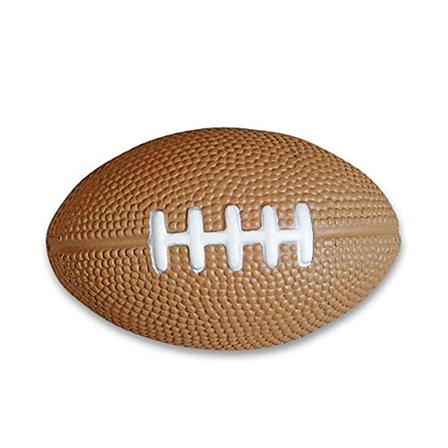 Football Sports Stress Balls Bulk Pack of 12 Relaxable 2.5