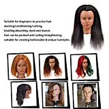 Mannequin Head 100% Real Hair Styling Training Head