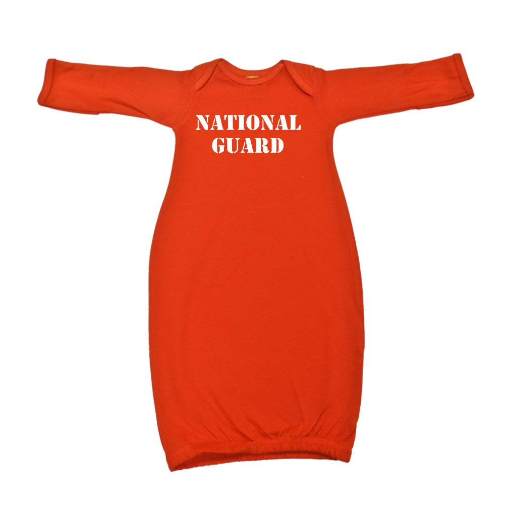 National Guard Military Armed Forces Soldier Baby Cotton Sleeper Gown