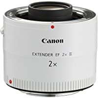 Canon EF 2.0X III Telephoto Extender for Canon Super Telephoto Lenses International Version (No warranty)