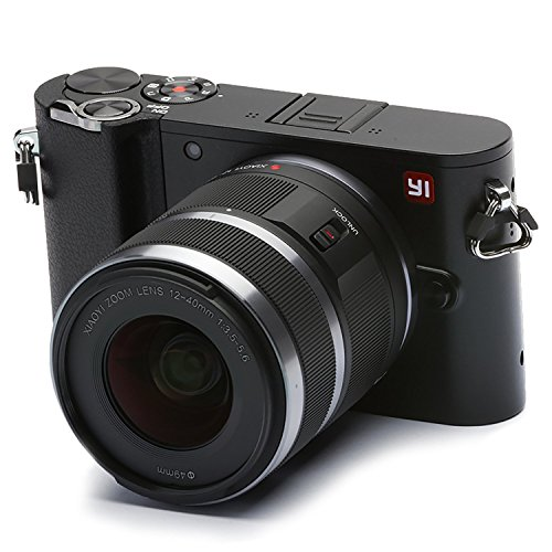 YI M1 4K 20 MP Mirrorless Digital Camera with Interchangeable Lens 12-40mm F3.5-5.6 Storm Black(US Edition)