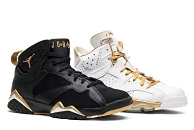 size 40 7600f 533fa Nike Air Jordan 6+7 Retro Olympic - Golden Moment Pack (535357-935) Mens  Shoes