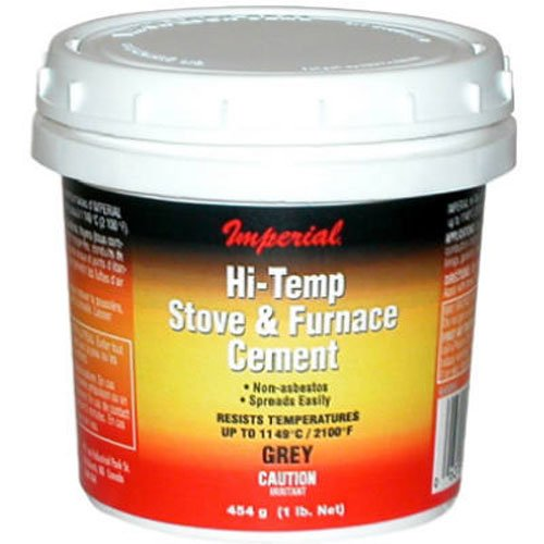 8 Oz Hi Temperature Silicate Stove Furnace Cement For Fireplace ...