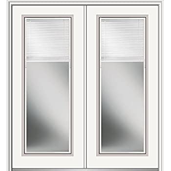 National Door Company Z019950l Primed Mdf 10 Lite Clear Glass Left Hand Prehung Interior Double