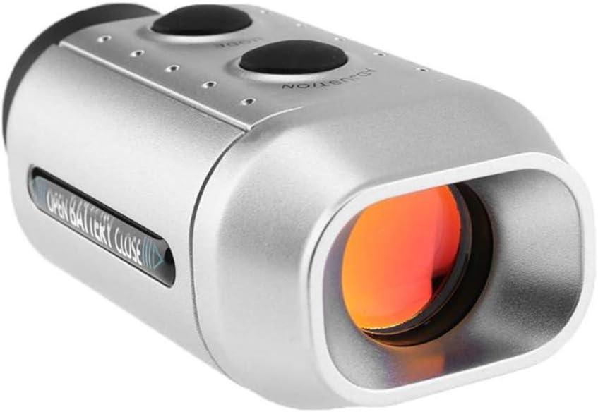 XUMENG 7X18 Telémetro De Golf para Caza Salvaje, Medidor De Distancia, Probador De Velocidad, Telescopio Monocular, Accesorio De Golf Perfecto O Regalo De Golfista