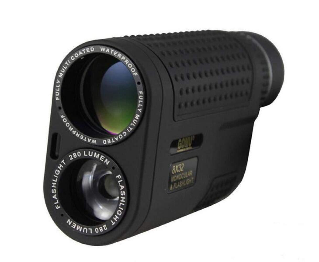 CTO Multifunktionsteleskop Einzelrohr Hd 8X32 Mit Taschenlampe Nachtsichtgerät Zwei Benutzer Außerhalb des Tragbaren Kletterns,A,Fernrohr