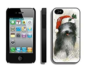 Hot Sell Cartoon Smiled Christmas Dog Black PC Iphone 6 4.7 Inchs, Iphone 6 4.7 Inch Case