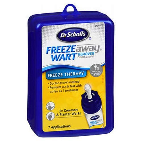 Dr. Scholl's Freeze Away Wart Remover, 7 Treatments, Box (Pack of 3) by Dr. Scholl's