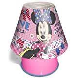 Disney Minnie Mouse I Love Minnie Kool Lamp