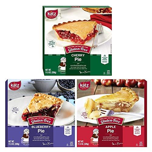 Katz sin gluten Pie Variety Pack, 1 Tarta de Manzana, 1 ...
