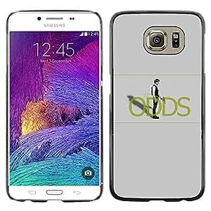 Stuss Case / Funda Carcasa protectora - Han Sol0 Probabilidades - Samsung Galaxy S6