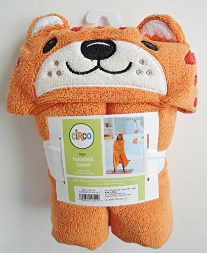 Circo Tiger Hooded Towel