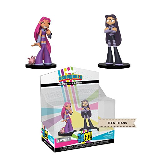 HEROWORLD Teen Titans Go DC Comics Action Figure Two Pack Blackfire & Starfire By Funko from Hero World