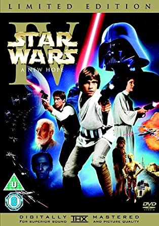 91f5c29d20 Star Wars IV  A New Hope (Limited Edition)  DVD   Amazon.co.uk  Mark ...