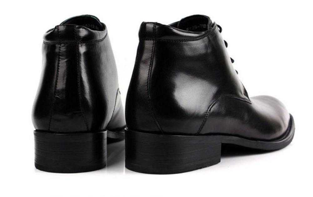 XIE Winter Männer Baumwolle Leder Stiefel Schnüren Geschäft Formal Behalten Schwarz Warm Beiläufig Schwarz Behalten Braun Größe 37-44 32c39f