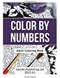 Color by Numbers Adult Coloring Book