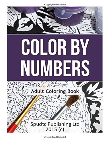 number Color adult by