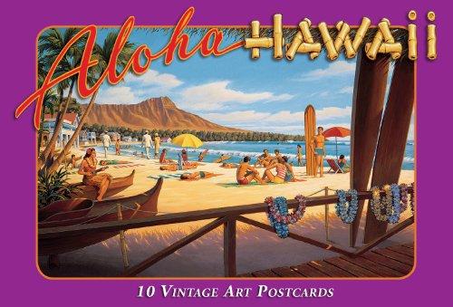 Hawaii Scrapbook Die Cut (Hawaiian Vintage Boxed Postcards Set of 10 - Aloha Hawaii)
