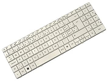Packard Bell EasyNote ST85 ST86 MT85 P/N: 7450690011 MP de 07 F36ch de 5281 notebook Keyboard Teclado Blanco (Swiss): Amazon.es: Informática