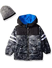 iXTREME Boys Camo Puffer with Accessory