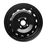 New 14x5 Inch 4 Lug 06-12 Toyota Yaris Full-Size Black Steel Replacement Wheel Rim