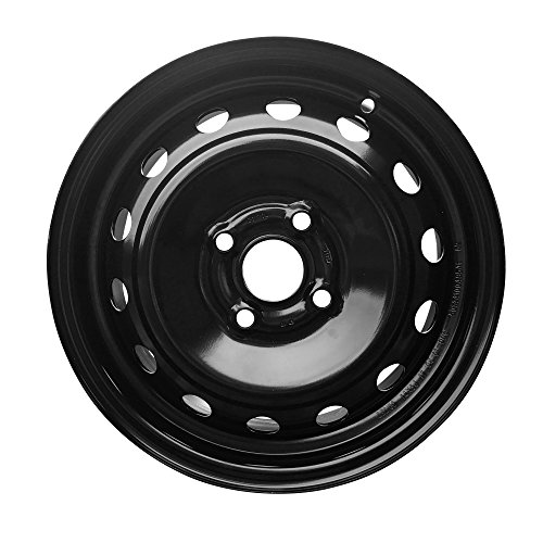 New 14x5 Inch 4 Lug 06-12 Toyota Yaris Full-Size Black Steel Replacement Wheel - Yaris Rims Toyota