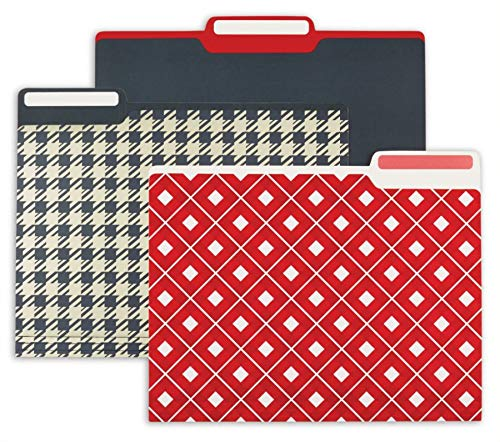 Divoga Fashion File Folders, 9 1/2