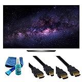 Electronics OLED55B6P FLAT 55-INCH 4K ULTRA HD SMART OLED TV (2016 MODEL) - 4 PIECE SET UP BUNDLE