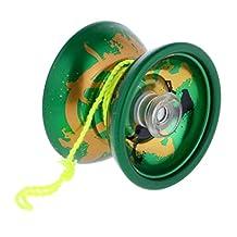 MonkeyJack Cool Alloy Design Professional YoYo Ball KK Bearing String Trick Toy Kid Beginner Advanced User #7