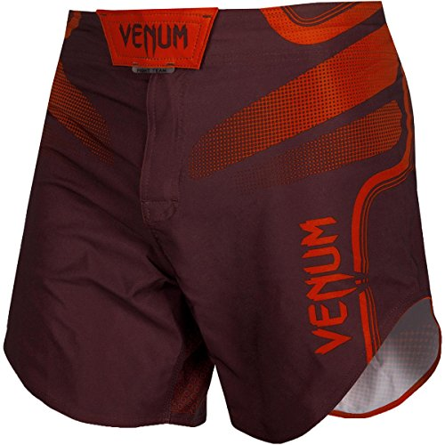 Venum Tempest 2.0 Lightweight Mid-Thigh MMA Fight Shorts - 2XL - Red/Red